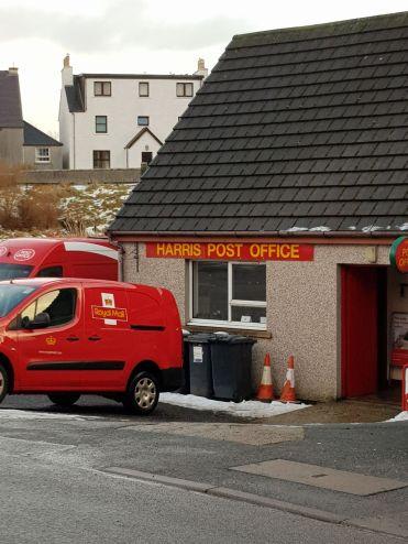 The Harris post office in Tarbert